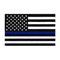 3x5FTS 90CMX150CM правоохранительные органы Сотрудники США американская полиция Тонкая синяя линия Флаги Bleueline США полиции Флаги Cyz3096