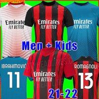 IBRAHIMOVIC 20 21 maglia calcio 2020 2021 maglie calcio PIATEK PAQUETA THEO SUSO REBIC camisa de futebol maillot kit uomo + bambini 120 ° 120 anni