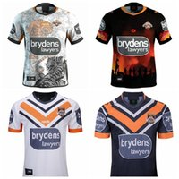 Top New 2021 West Tiger Jerseys Home Away Rugby League Jersey 19 20 21 Camicie S-3XL