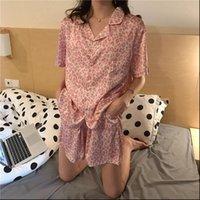 Satin Pajamas Leopard Print Womens Sleepwears Home Clothes Pijama Mujer Silk Pyjama Loose Sleepwear Sexy Summer Nightie