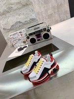 Monclair Yüksek Kalite İtalyan Erkek Merhaba Üst Sneakers İtalya Üçlü S Deri Tuval Platformu Eğitmenler Siyah Beyaz Rahat Düz Dantel Ayakkabı