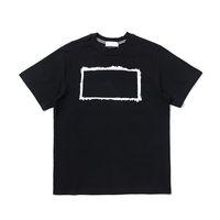CP Topstoney 2021 새로운 고품질 여름 코튼 인쇄 편지 T 셔츠 남성 캐주얼 패션 짧은 소매 애호가 거리 간단한 상단