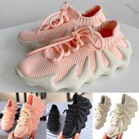 Yeezy Boost 450 2019 Çocuklar Atletik Ayakkabı Çocuk Basketbol Ayakkabı Kurt Gri Yürüyor Spor Sneakers Boy Kız Toddler Chaussures Enfant Dökün