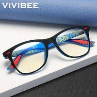 Óculos de sol Vivibe Clássico Blue Light Blocos Óculos Homens Quadrado Matéria Negra Mulheres Ray Lente Unisex Gaming Oyewear Produto