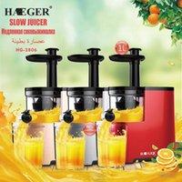 Juicers HAEGER 1L Fruit Juicer Blender Stainless Steel 350W Extractor For Lemon Squeezer Separator Residue Raw Juice Maker