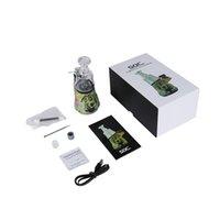 SOC Enail Kit 2600mAh Vape Wax Vaporizer Atomizer Starter Kits Glass Water Dab Rig