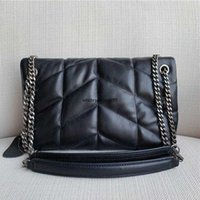 "YSL""Handbag Mini Luxurys Bags Designer Tote Bag Branded crossbody lady genuine leather chain messenger puffer for women soft female Sqm"