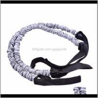 Bauchrad Zug Fitness Widerstand Band Sportübung Elastische Seilspannung Stretch-Bands Training Gym-Ausrüstung1 TKNBT QCTN4