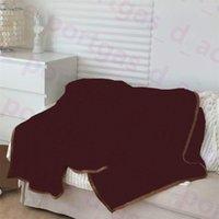 Luxus-Hot-Plüsch-Wehrwinde-Winter-Herbst-Reise-Auto-Decken Büro-Home Hotel Klimatisierte Decke Multifunktions 150 * 200 cm Bett-Sofaabdeckungen Ins werfen