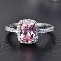 Big Promotion 3ct Real 925 Silber Ring Swa Element Diamant Smaragd Edelstein Ringe für Frauen Großhandel Hochzeit Engagement Schmuck Neue 881 Q2