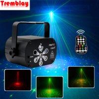 LED 레이저 스타 프로젝터 디스코 음악 사운드 컨트롤 빛 전문 무대 조명 효과 DJ 크리스마스 파티 스트로브 램프