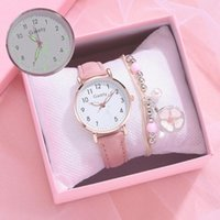 Relojes de pulsera 2021 Reloj Mujeres Casual Moda Cinturón de cuero Relojes Simple Ladies 'Small Dial Reloj de cuarzo Vestido