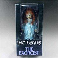Movie Figur Horror Living Dead Puppen präsentiert den exorzistischen Terror Puppe Action-Figuren PVC MEZCO Toyz-Sammlung Modell Spielzeug Q0722