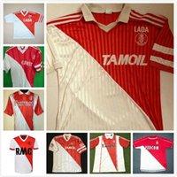 82 90 91 92 94 95 96 97 Retro Monaco Tuybens Fussball Jersey 1999-2000 Home Dalger Vintage 96-97 als Ben Yedder Jovetic Golovin