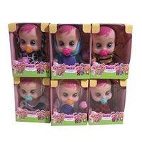 Gorący sprzedawanie 2,5-calowy mini szkliwa niespodzianka płacząca Łzy lalki podczas pitnej zabawka rodziny wody