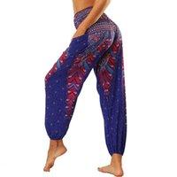 Women Overfit Yoga Pants Fitness Pantalon Pantalon Poche Sport Fond Inde Style 3D Vintage Vintage Vintage Ventre Dance Travel Versez des panneaux de survêtement en vrac