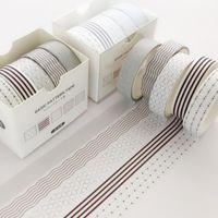 Nieuwe Washi Tape Decoratieve Lijmstickers Japanse plakband voor DIY Crafts and Arts Scrapbooking 2016