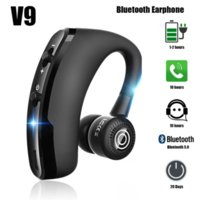V8 Wireless Bluetooth V9 headset, Universal Business Noise Reduction 5.0 Bluetooth headset with microphone headphones