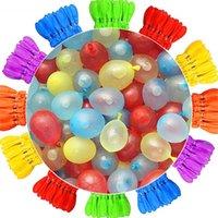 마법의 빠른 셀프 씰링 물 풍선 111 아이들을위한 소년 풍선 세트 파티 게임