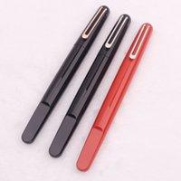 Promoción - Luxury MT Bolígrafos de alta calidad M CAP MAGNÉTICA MAGNÉTICA Roller Ball Pen Red Black Resin And Plating Talling Office Suplementos de la escuela como regalo