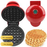 Fiş Mini Waffle Pot Pan Eggette Makinesi Elektrikli Kahvaltı Waffle Maker Kabarcık Yumurta Kek Fırın Kalıpları Pişirme Kalıpları