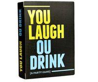 Vous riez le jeu de cartes que vous buvez une carte de fête de jeu pour adulte par UPS