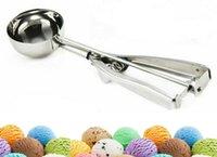 4 cm 5 cm 6cm Eiscreme-Schaufel Küchenwerkzeug Edelstahl Wassermelone Maisch-Kartoffel-Löffel-Server Lebensmittel