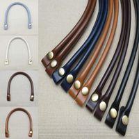 Accesorios de piezas de bolsas 1pc 40 cm desmontable o manijas PU cuero lady hombro bolso correa bricolaje correa para bolsas