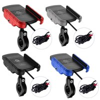Motorcycle Mirrors Kewig 2 In 1 Car Phone Holder Wireless Charger Bracket For ,Samsung Mobile 15W Fast Chargin