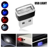 USB-Auto-LED-Atmosphäre Lichter dekorative Lampe Notbeleuchtung Universal für PC-tragbarer PDA-Stecker und spielen