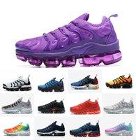 Artı TN Run Erkek Koşu Ayakkabıları Hava Buharlı Artı Tropikal Büküm Bayan Sneakers TNS OG Ultra Üçlü Siyah Beyaz Metalik Gümüş Hiper Menekşe Mavi Zapatilla