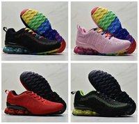 Olmak Gerçek Reoks Erkek Koşu Ayakkabıları KPU Basketbol Ayakkabı Chaussures 2020 Örgü Örgü Trainer Zapatos Üçlü Siyah Beyaz Kadın Sneakers Güzel