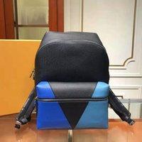 Ysiykiy Mens Duffel Bags Outdoor School Mochilas Messenger Designer Mochila de couro Message Bolsa de lona Cruz Moda Moda M30728