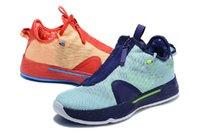 Gatorade Paul George PG 4 Erkek Basketbol Ayakkabı IV PCG Üçlü Siyah ABD Bred Oreo Ekose Turuncu GX PG4 Eğitmenler Erkekler Spor Sneakers 40-46