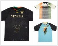 Özelleştirilmiş 21-22 Venezia FC Tayland Kaliteli Futbol Formaları Gömlek Tops Özel Aramu 10 Yerel Forte 11 Mazzocchi 7 Online Mağaza Yakuda En İyi Spor Dropshipping Kabul