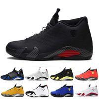2020 Nouveau 14 ans Hommes Chaussures de basket-ball SE Rojo Negro Varsity Roya Noir Toile Dernière photo Mens Sports Chaussures de sport Chaussures d'extérieur 7-13