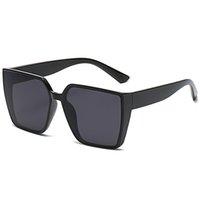 summer Women's fashion beach Sunglasses Leopard grain Big frame retro sun glasses for women Casual anti-glare glasse driving Sunglasse