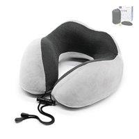 Подушка U в форме ортопедическая для шеи Беременная женщина Автомобильная Офис NAP Travel Memory Пена Спящая Опора Подушки