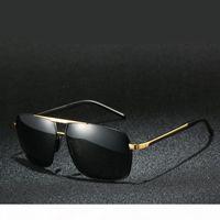 نساء رجالية كبيرة مربع نظارات رجالية العلامة التجارية مصمم صندوق كبير نظارات شمسية للرجال الكلاسيكية الرجعية مربع كبير سائق النظارات