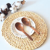 Corn fur woven Dining Table Mat Heat Bowl Placemat Round Coasters Coffee Drink Tea Pads Cup Table Placemats GWD10343