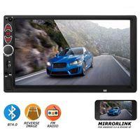 7Inch Press Sn Car Stereo MP5 Player Bluetooth Radio1