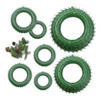 Flores decorativas grinaldas de natal festão ano decoração doméstica produtos caseiros casamento plástico acessórios nupcial apuramento