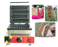 Kommerziell 110V / 220V CE genehmigt 4 stücke Lolly Waffelmacher Maschine Ei Stick Waffel Baker Weihnachtsbaum Waffelmaschinen