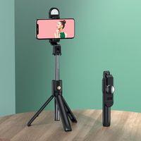 Selfie Monopods Niye Bluetooth Stick Remote Control Tripod Wireless Handphone Live Po Holder Camera Self-Timer Artifact Rod