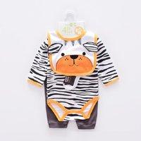 Clothing Sets Hooyi Baby Boy Clothes Suits Born 4-pieces Set Girl Bodysuit Pant T-shirt Sock Bib 5pcs Bebes Jumpsuits