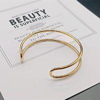 gold Titanium steel Bangle beads hollow women bracelet letter D home designer birthday gift wedding fashion anniversary jewelry not allergic