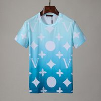 Yaz Erkek Tasarımcılar T Gömlek Casual Adam Bayan Gevşek Tees Harflerle Baskı Kısa Kollu Moda Erkek Gömlek Boyutu M-XXXL