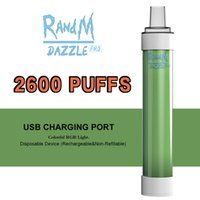 High Rebuying Disposable Vape Pen RanM E Cigarettes Dazzle Pro Tornado 2000 2600 6000 7000 puffs VS Puff Long Battery Life Time Famous Vapes USA Market