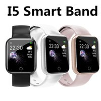 I5 Smart Watch Wristbands Smartwatch Sleep Tracker Sport Faixa Coração Coração Rate Oxygen Passômetro Passe À Prova D 'Água Android Fêmeas Relógios PK Y68 / D20 116Plus BT
