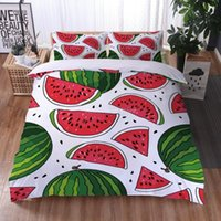 Fruit Cartoon Ins Style 3D Print Comforter Bedding Set Fashion Duvet Cover Pillowcase Twin Full Queen King Size Home Textile Sets